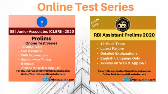 Best SBI Clerk Test Series